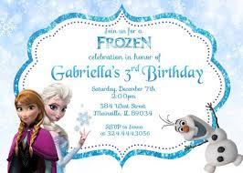 11 best frozen images on pinterest birthday invitations