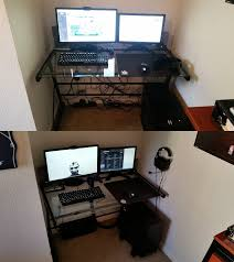 cable management with a glass desk may seem tough but it u0027s