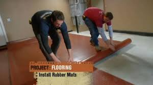 house crashers features coin garage flooring for a home gym youtube