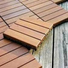 outdoor deck flooring tiles at rs 350 square s wooden