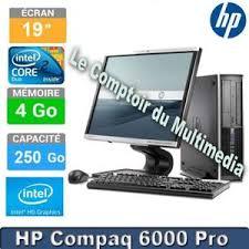 ordinateur de bureau hp pas cher pc de bureau hp 6000 pro prix pas cher cdiscount