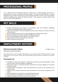 Resume Sample Management Skills by Corporate Resume Template Free Resume Example And Writing Download