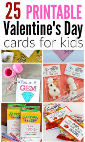 kids valentines cards printable s day cards for kids free cards