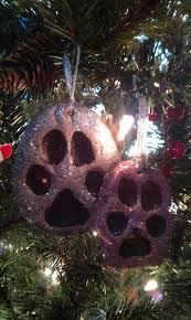 diy paw print ornaments pawpost