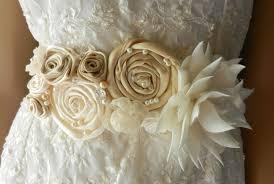 wedding dress sashes bridal sash wedding dress sashes belts sashes by blossomsashes