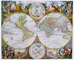 Old World Map Poster by Antique Maps For Inspiration Aa Inter 3