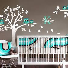 Nursery Owl Wall Decals Styleywalls On Artfire