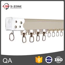 rail ceiling curtain types of curtain rail curtain wheel and rail