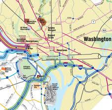 Washington Dc On Map Informing Design Inc