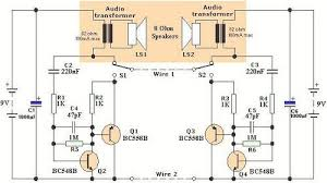diy home intercom circuit home art