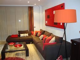 Livingroom Cafe Sofa Marron Oscuro Cojines Buscar Con Google Casa Nueva