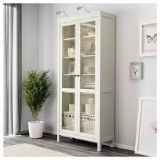 Ikea Cabinets Bedroom by Hemnes Glass Door Cabinet Black Brown Ikea