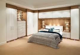 Space Saving Bedroom Ideas Built In Wardrobe Around Bed Corner Furniture For Space Saving