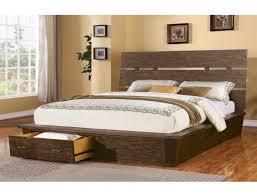 Flat Platform Bed Bedroom Wondrous Queen Platform Beds With Storage Tommay Design