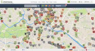 Germany City Map by Zero Project Sozialhelden E V U2013 Germany