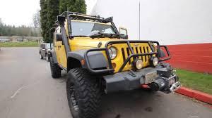 yellow jeep 4 door 2008 jeep wrangler unlimited x detonator yellow 8l605793