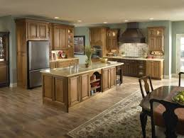 Oak Cabinets Kitchen Design Kitchen Flooring Ideas With Oak Cabinets Nrtradiant Com
