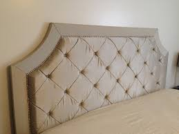 How To Make King Headboard by Diy King Size Tufted Headboard 2730