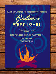 lohri invitation cards items similar to lohri invitation his hers on etsy
