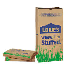 Paper Blinds At Lowes Shop Garbax 5 Count 30 Gallon Natural Brown Leaf Trash Bags At