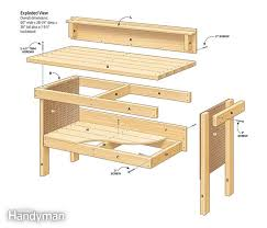 Woodworking Bench Plans by Classic Diy Workbench Plans Diy Workbench Workbench Plans And