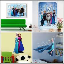 Frozen Kids Room by Elsa Frozen Wall Stickers Removable Olaf Decoration Princess