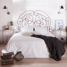 fer forgé chambre coucher lit en fer forgé blanc banquette forge conforama pas cher personne