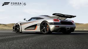 one 1 koenigsegg koenigsegg one 1 joins forza 6 on xbox