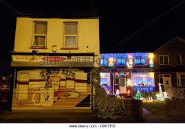 christmas decorations in english house stock photos u0026 christmas