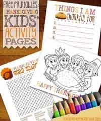 printable thanksgiving crafts over 100 free thanksgiving crafts projects at allcrafts net