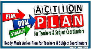 ready made action plan for teachers and subject coordinators