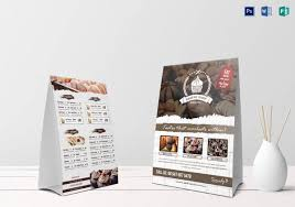 Table Tents Template Bakery Menu Template U2013 25 Free Word Psd Pdf Eps Indesign