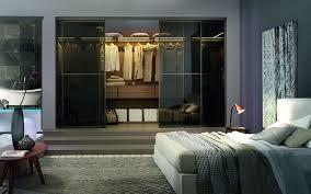 armadio con ante in vetro armadio in materico con ante a vetro specchiate