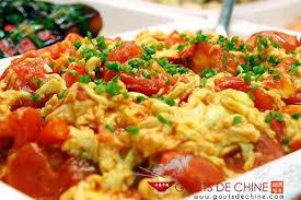 cuisine chinoise recettes tomates sautées aux oeufs recette chinoise
