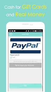 Buy Giftcards With Paypal by Cash Gift Free Gift Cards Android Apps On Google Play