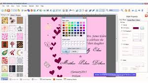 Online Wedding Invitation Cards Creation Free Wedding Invitation Card Design Software Free Professional