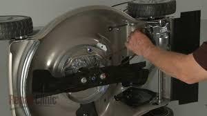 honda lawn mower drive belt replacement 22431 vl0 p01 youtube