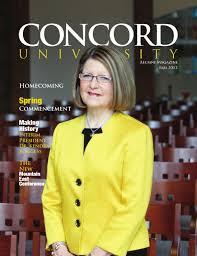 concord university summer 2015 alumni magazine by concord