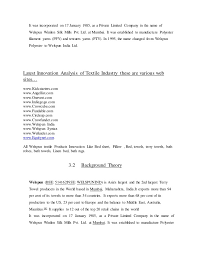 Sample Child Actor Resume by Saurabh Internship Report Welspun
