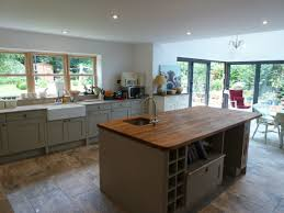 kitchen island worktops mornington shaker kitchen fitted in stevenage hertfordshire
