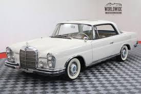 mercedes vintage 1963 mercedes 220se restored 4 speed manual sunroof