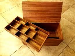 custom craft box made wood craft supply box craft tool box