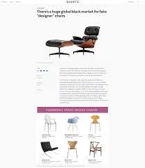 there u0027s a huge global black market for fake u201cdesigner u201d chairs