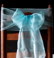chair sashes cool mint green organza chair sashes bows table runners 6 5in