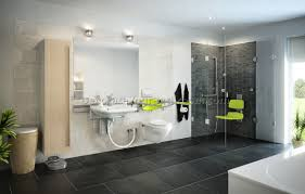 Brilliant  Handicap Bathrooms Designs Design Ideas Of Handicap - Handicapped bathroom designs