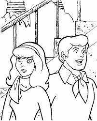 Scooby Doo Halloween Coloring Pages by Scooby Doo Coloring Pages Coloringpages1001 Com