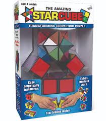 the amazing starcube transforming geometric puzzle toys
