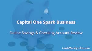 spark business card login capital one spark business savings and checking account review