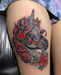 66 beautiful unicorn tattoos and meanings