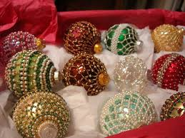 374 best beaded ornaments images on beaded
